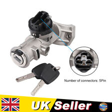 5Pin Ignition Switch Barrel Steering Lock For Fiat Ducato Peugeot Citroen Relay
