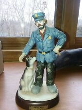 Policeman Hobo Clown Statue