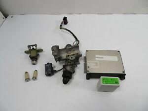 99 BMW M3 E36 Convertible #1103 Ignition Lock Set W/ ECU, Immobilizer EWS 2
