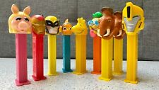 More details for set of 9x vintage pez dispensers different characters highly collectable