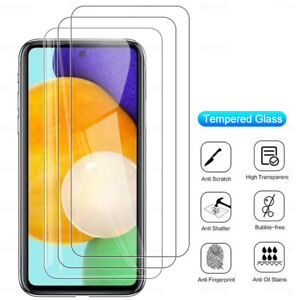 Tempered Glass Screen Protector Film for Samsung Galaxy F41 A42 A21S A51 A12 A32