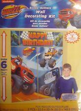 Giant Blaze & the Monster Machines Birthday Wall Decoration Kit (6' Tall)5 Decs