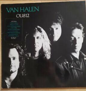 VAN HALEN ~ OU812 ~ 1988 UK FIRST PRESSING 9-track vinyl LP ~ EMBOSSED SLEEVE