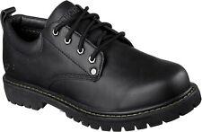 Skechers Mens Tom Cats Lace Up Shoe Black