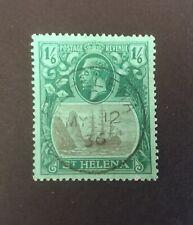 St Helena 1922 - 1938 George V definitive 1s 6d VFU