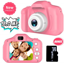 Joy-Fun Gifts for 3-8 Year Old Girls Kids Camera 8.0 MP Digital Cameras for Toy