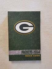 Green Bay Packers Official 2014 Media Guide Brand New