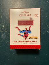 "2013 Hallmark Keepsake ""Here Comes the Spider Man"" Sound Ornament - New S3"