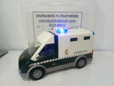 Playmobil furgón de presos Guardia Civil (No incluye muñeco)