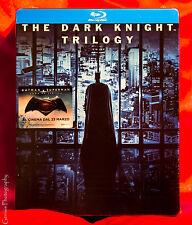 The Dark Knight Trilogy Limited Edition Steelbook [Blu-ray]