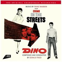 OST/CRIME IN THE STREET/DINO  CD NEW FRANK ROSOLINO/GERALD FRIED