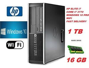 FASY HP 8300 Elite DESKTOP PC COMPUTER Intel Core i7 2nd Gen 3.2 GHz,16 GB 1TB