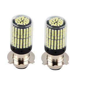 LED Headlight Bulbs For Kawasaki KSF250 Mojave 250 87-04 KLF185 Bayou 185 85-88