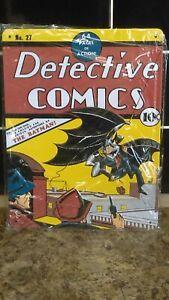 batman detective comics tin sign