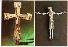 2 Ak Romanisches Kruzifix, Regensburg, Bayern