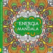 LIBRO L'ENERGIA DEI MANDALA. I QUADERNI DELL'ART THERAPY. DISEGNI DA COLORARE