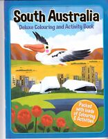 South Australia Deluxe Colouring & Activity Book New sameday free  post