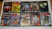 Lot Of 10 Playstation 2 Video Games Nice Selection of Games