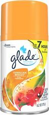 Glade Automatic Air Freshener Spray Refill, Hawaiian Breeze 6.2 oz (Pack of 8)