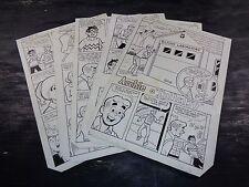 Original Art Story (Archie 327) 5 Pages COMPLETE! DECARLO JR 1984 ART#515