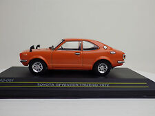 TOYOTA 1st SPRINTER TRUENO (TE27) 1972  Orange  1:43 FIRST:43 MODELS / KB NEW