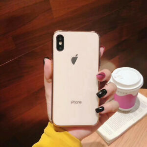 For iPhone 12 Pro Max 11 SE XS XR X 8 Luxury 9H Hard Tempered Glass Case Cover
