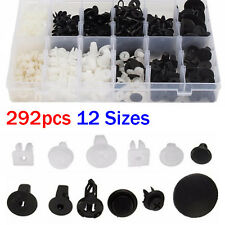 292pcs Car Retainers Push Fastener Driver Door Rivet Trim Panel For Toyota clips
