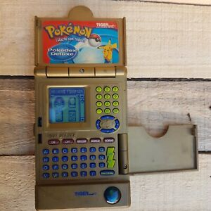 Limited Edition 2001 Gold Pokemon Pokedex Deluxe Spanish version RARE - Tested!