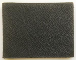 Antique Vtg NONPAREIL Black Leather Photo or Post Card Album BLANK Empty Unused