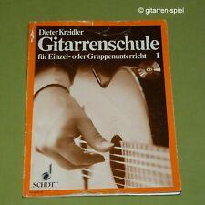 Dieter Kreidler Gitarrenschule für Einzel- oder Gruppenunterricht Band 1 ED 6692