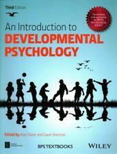 An Introduction to Developmental Psychology by Alan Slater 9781118767207