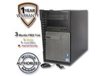 DELL Desktop PC 990 Intel Core i5 2nd Gen 2400 (3.10 GHz) 8 GB DDR3 320 GB HDD I