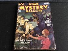 Dime Mystery Pulp September 1935