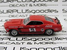 Greenlight 1:64 LOOSE Allan Moffat's 1969 FORD MUSTANG BOSS 302 T/A Race Damaged