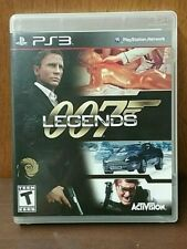 007 Legends (Sony PlayStation 3, PS3 2012) Complete Mint Disk!