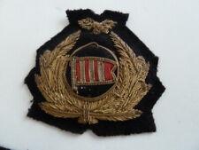 DAN AIR ?, airways, British airline pilot wings hat badge   (my ref 87)
