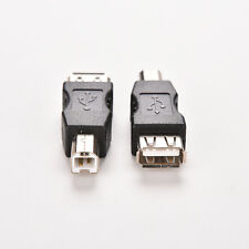 Double USB Type A Female to USB Type B Male Adapter Conector printer WCL