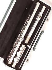Bundy Selmer USA Flute with Green Hard Case and Cleaning Rod