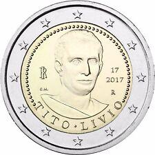 Italien 2 Euro Titus Livius Münze 2017 Gedenkmünze unzirkuliert