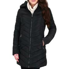 Nanette Nanette Lepore Women's Chevron Quilted Convertible Winter Puffer Coat