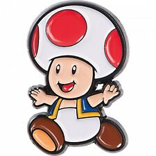 Nintendo Super Mario Collector Pins Series 1 - Toad  - Limited Collectors Badge