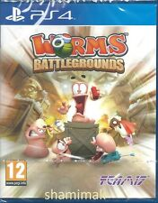 Worms Battlegrounds  BRAND NEW PS4 Game