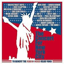 The Concert for New York City by Various Artists (CD, Nov-2001, 2 Discs,...