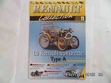 MAGAZINE RENAULT COLLECTION N°19 VOITURETTE TYPE A   D79