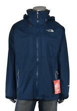 North Face Denim Azul Lagit Lluvia Windstopper Chaqueta Nueva