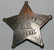 DEPUTY US MARSHAL Gunsmoke Tombstone OLD WEST WESTERN Star BADGE New