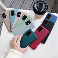 For Samsung S21 Note 20 A20E A21S A51 A71 ShockProof Soft Silicone Case Cover