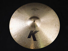"zildjian 22"" medium ride cymbal k0856 k custom messe demo"