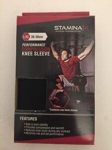 Stamina X COMPRESSION KNEE SLEEVE Large/X-Large