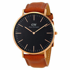 Daniel Wellington DW00100126 Classic Durham 40mm Brown Leather Mens Watch